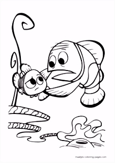 41 best colouring finding nemo images on Pinterest