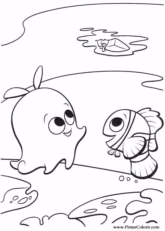 Sheldon Finding Nemo Drawing 8597