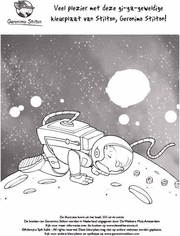 Geronimo Stilton SOS uit de ruimte De Wakkere Winkel
