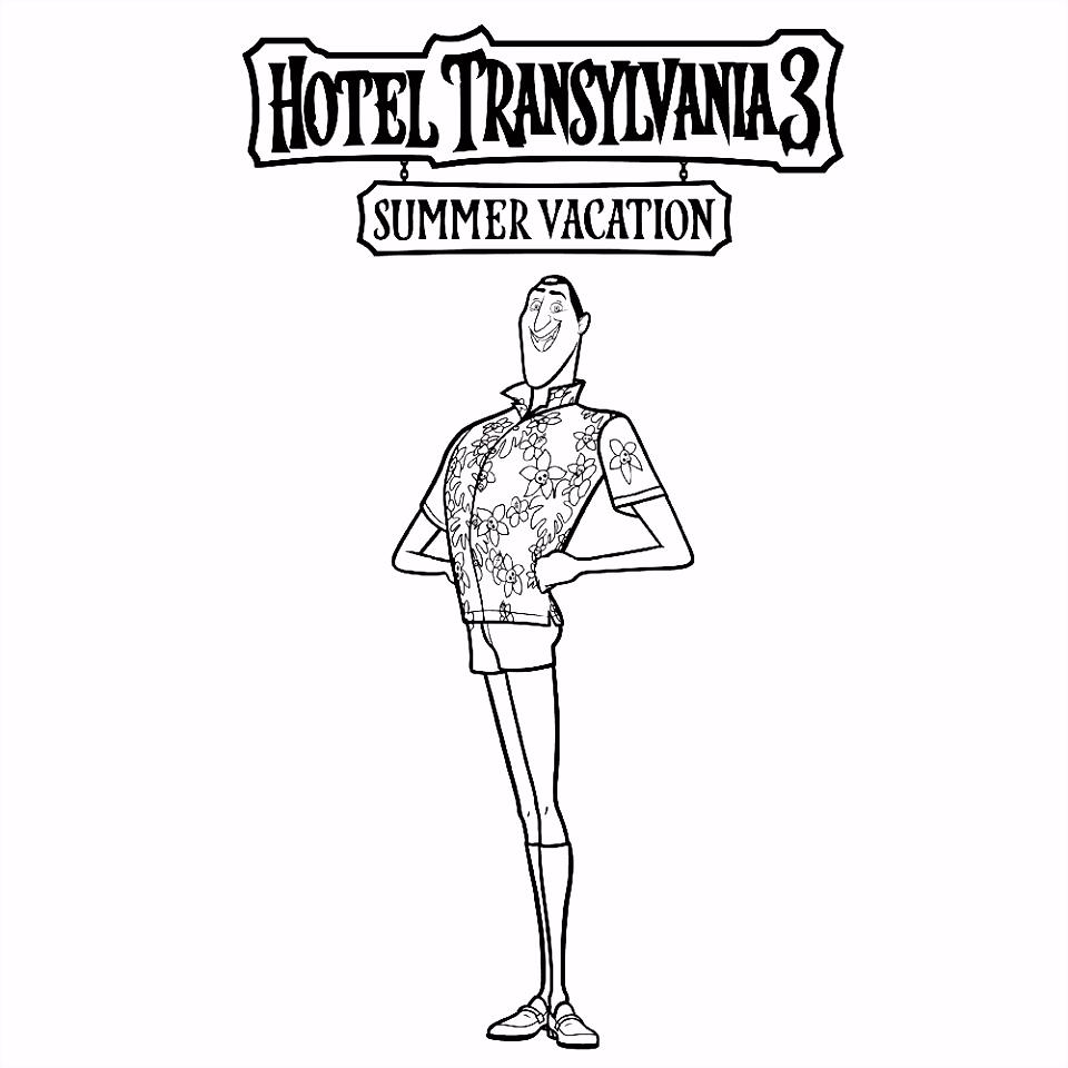 Kleurplaten Hotel Transylvanie Leuk Voor Kids – Drac Y7rg76nfx1 C2nwmmbme2