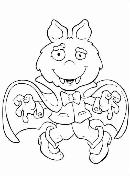 Cute Halloween Coloring Pages For Kids Lovely Halloween Coloring