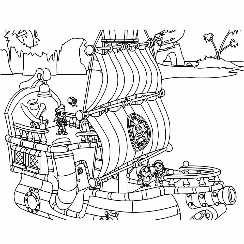 Leuk voor kids – jake en de nooitgedachtland piraten 0001
