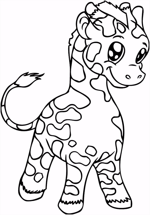 cute coloring pages of baby giraffes Google Search