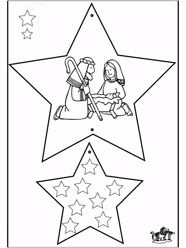 Kerstversiering Bijbel 2 Knutselen Kerst