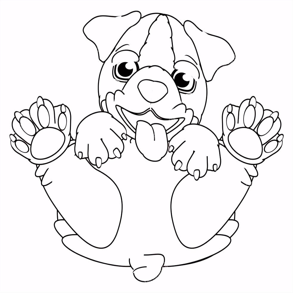Puppy Kleurplaten Uniek Kleurplaten Puppy – Werkbladen en kleurplaten