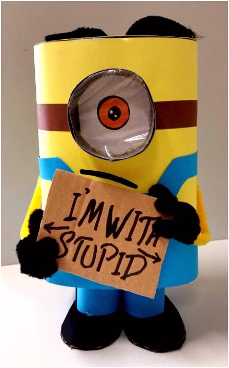 Maak je eigen Minion Werken met papier Creatief met kinderen