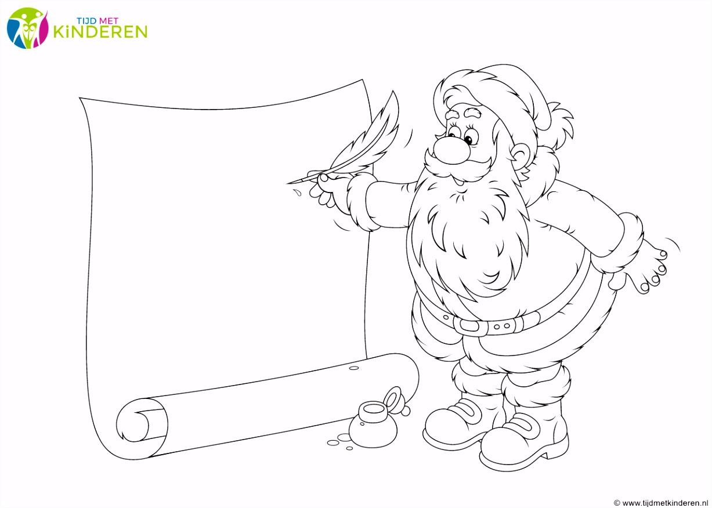 Kerst Verlanglijstjes Kleurplaten Nl ARCHIDEV