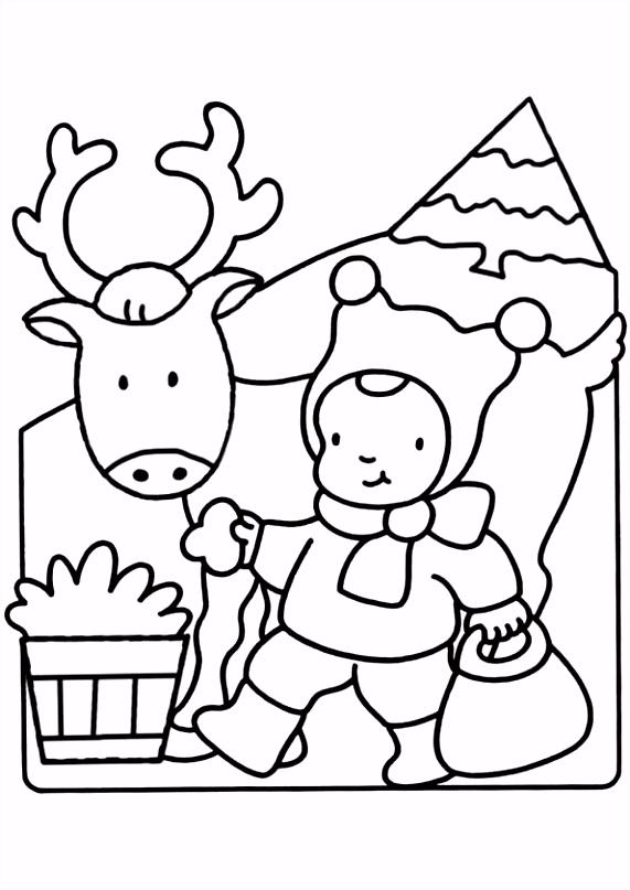Kleurplaten Kerst Woezel En Pip Kleurplaat Kerstman Met Arrenslee Kleurplatennl Color Me Pretty Q9db81hax2 Rhdo2hedvs