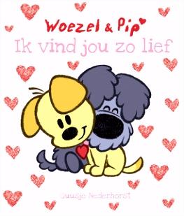 Woezel en Pip Ik vind jou zo lief Leopold