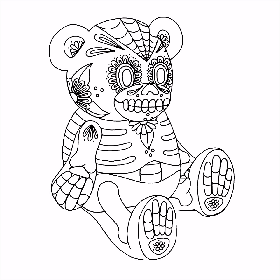 Challenging coloring sheets for older kids