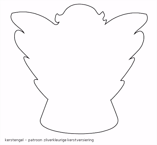 kerst engel simpele tekening uiltjes en engeltjes