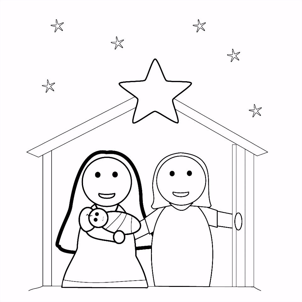 Leuk voor kids – Kerststal