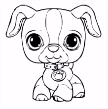 coloring pages littlest pet shop Coloring Pages