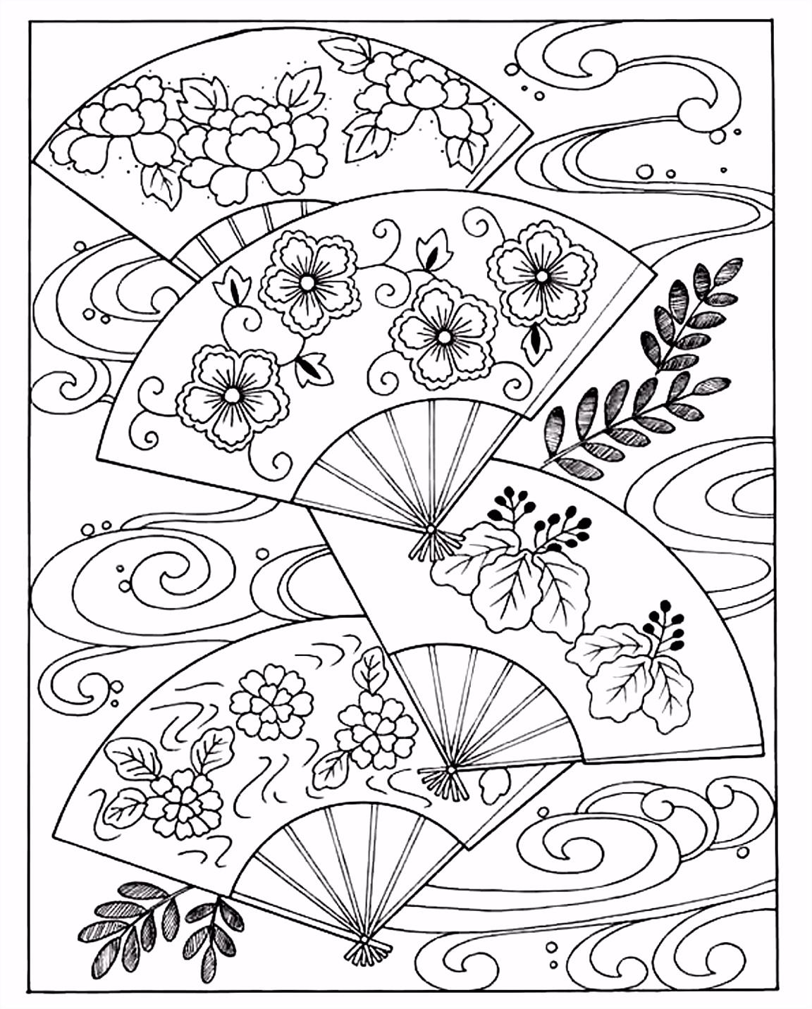 Kleurplaten Magische Doremi Free Coloring Page Coloring Japanese Hand Fan Coloring Japanese J2nd62eyx3 I6yws6esb0