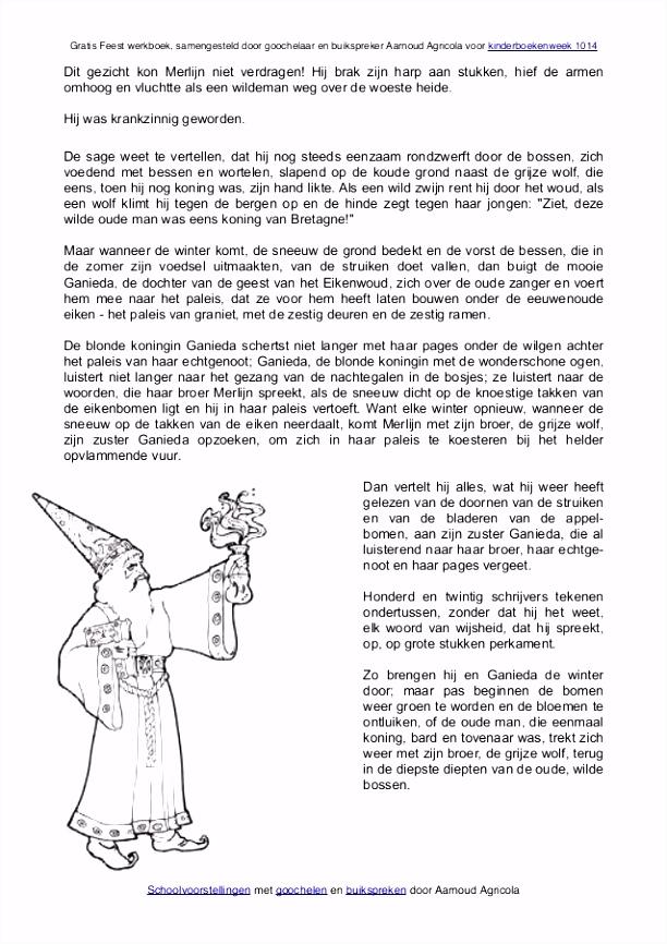 Feest werkboek voor kinderboekenweek 2014 van goochelaar Aarnoud Agri…