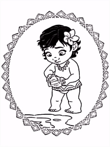 40 Beautiful Vaiana Bebe Coloriage Coloriage Kids