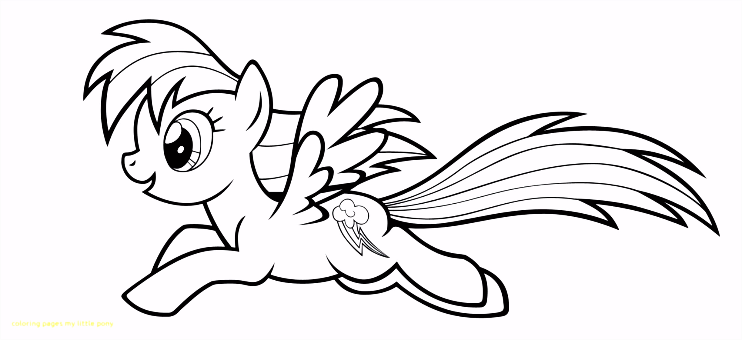 My Little Pony Coloring Pages Rainbow Dash Luxury Mlp Coloring Pages