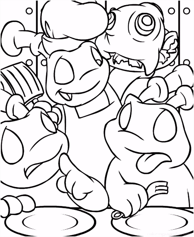 The Aristicats Coloring Home
