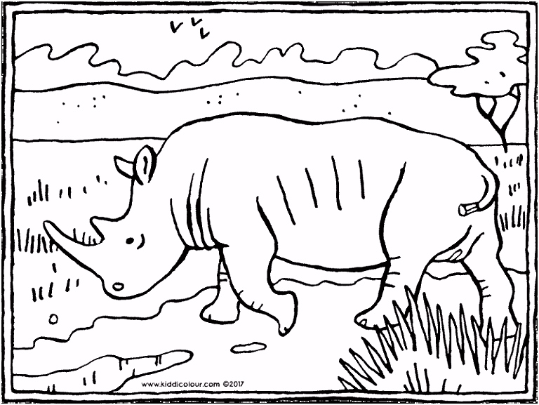 ren colouring pages Pagina 6 van 9 kiddicolour