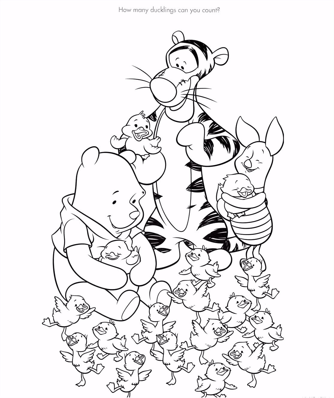 Winnie The Pooh Kleurplaten ARCHIDEV