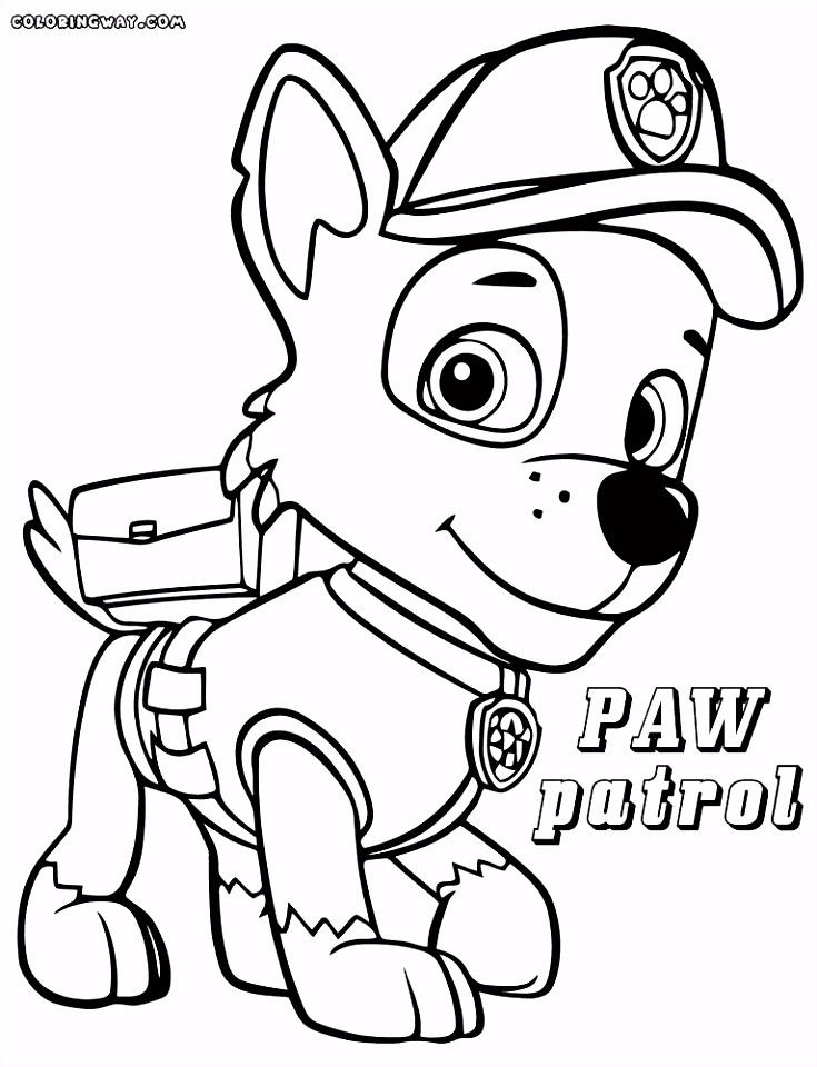 Disegni Di Paw Patrol – 20 Beautiful Marshall Paw Patrol Coloring