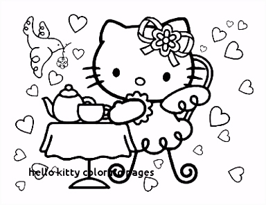 30 Hello Kitty Coloring Pages