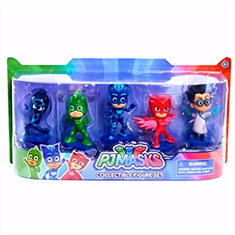 Just Play PJ Masks Collectible Figure Set 5 Pack Figures Amazon