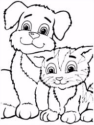 Dieren Kleurplaten Hond ARCHIDEV
