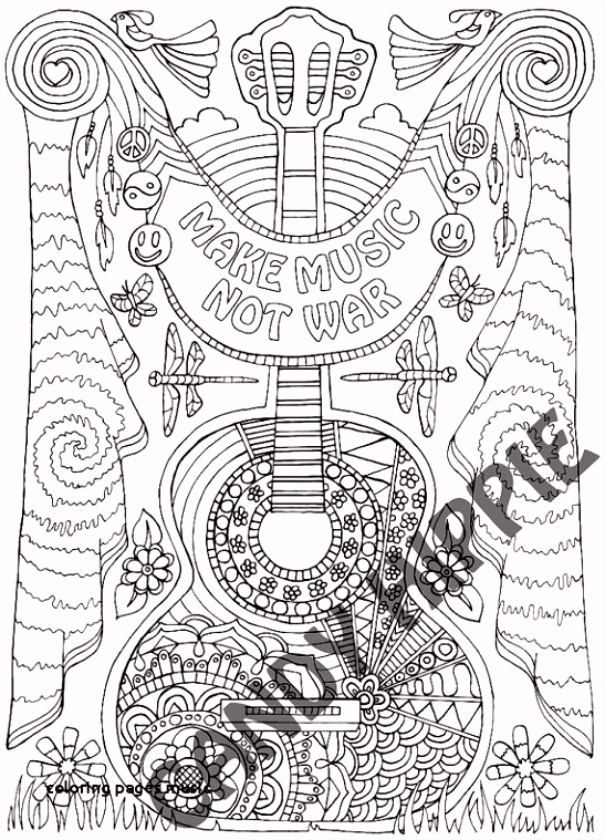 22 Coloring Pages Music
