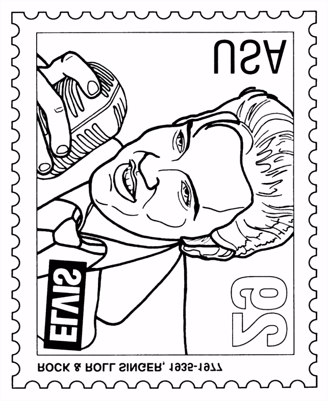 Elvis Coloring Pages Elvis Coloring Pages New Elvis Coloring Pages