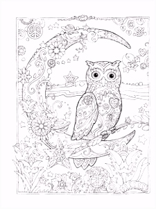 46 best Adult Coloring Pages images on Pinterest in 2018