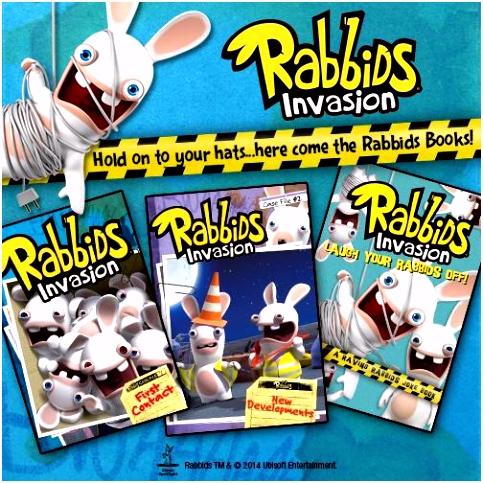 "Rabbids on Twitter ""Rabbids are invading your bookshelves RETWEET"