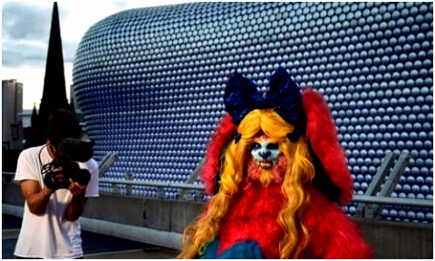 Rachel Maclean my month in hell as the Bullring bunny