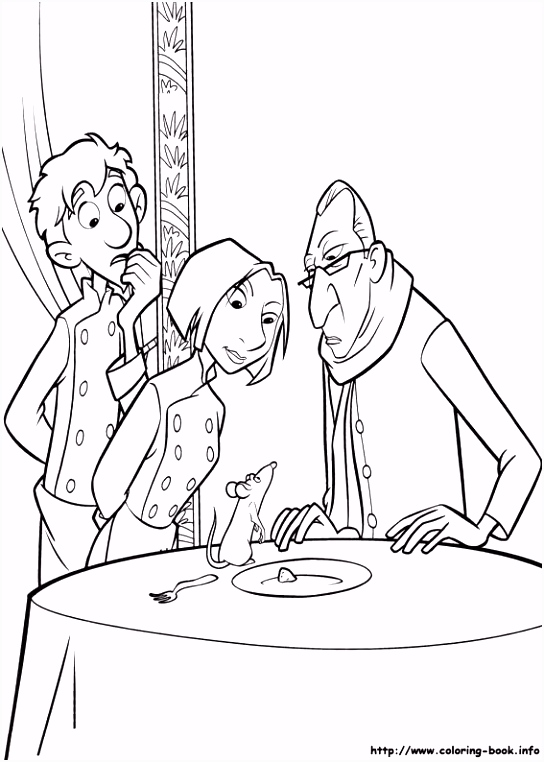 cool ratatouille 55 coloring page