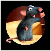 Kleurplaten Ratatouille Pixar