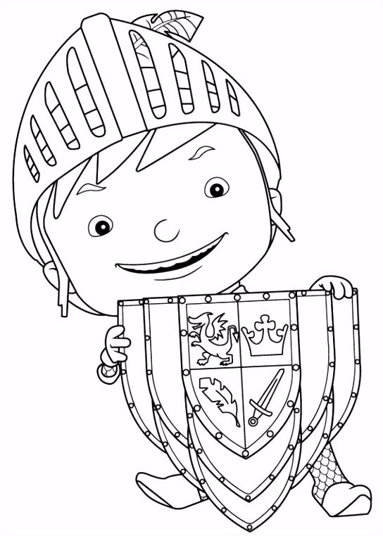 Mike de Ridder Kleurplaten voor kinderen Kleurplaat en afdrukken