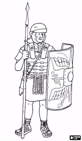 Rome Coloring Pages Printable