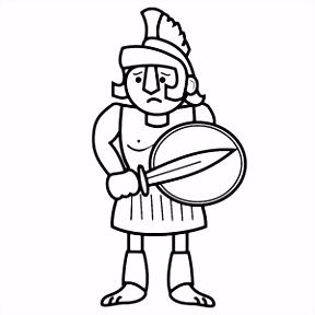 Kleurplaten Romeinse Tijd soldaten Kleurplaten V4tc24hab3 Vufqsvbmnm