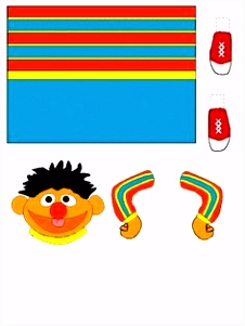 193 best thema cake ernie sesamestreet images on Pinterest