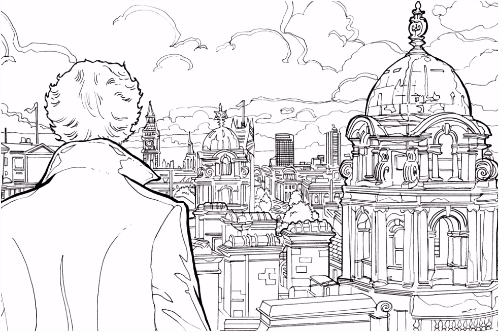Free Sherlock Holmes Colouring Pages coloring pages