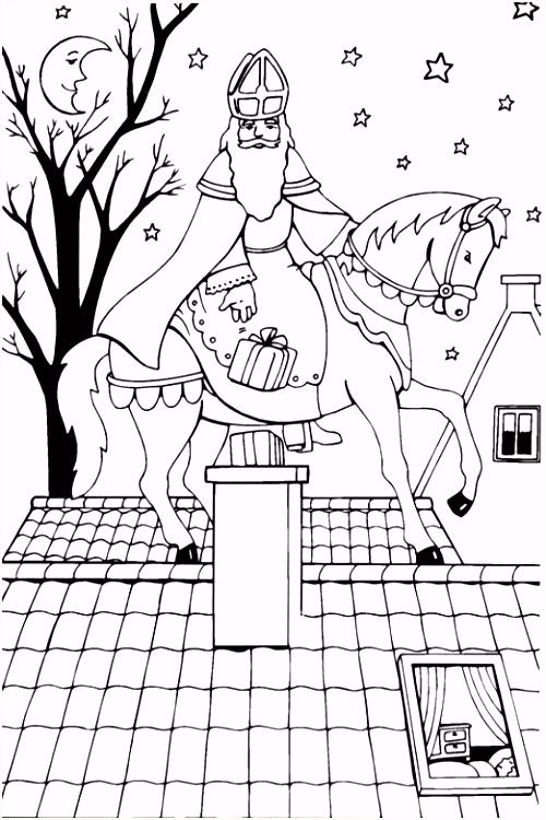 Sinterklaas Afbeeldingen Om Te Kleuren ARCHIDEV