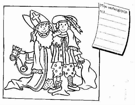 Sinterklaas Club Leuke Sinterklaas kleurplaten om uit te printen