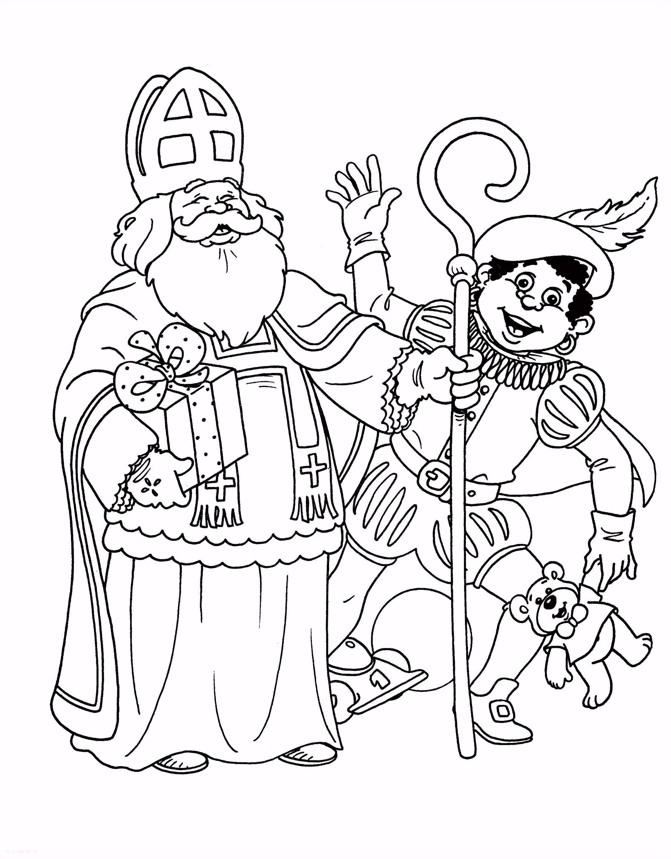 Kleurplaten Sinterklaas Op Zijn Paard.Kleurplaten Sinterklaas Op Zijn Paard Kleurplaat Sinterklaas Peuters