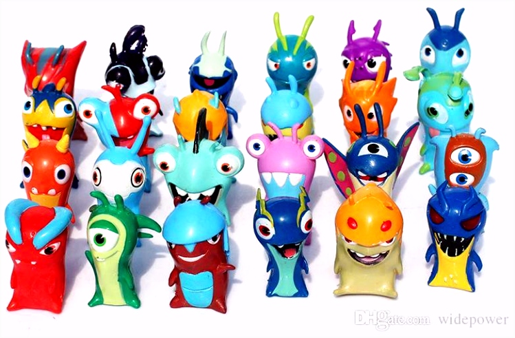 Discount Slugterra PVC Dolls 4 5cm Cartoon Slugterra 2 Action