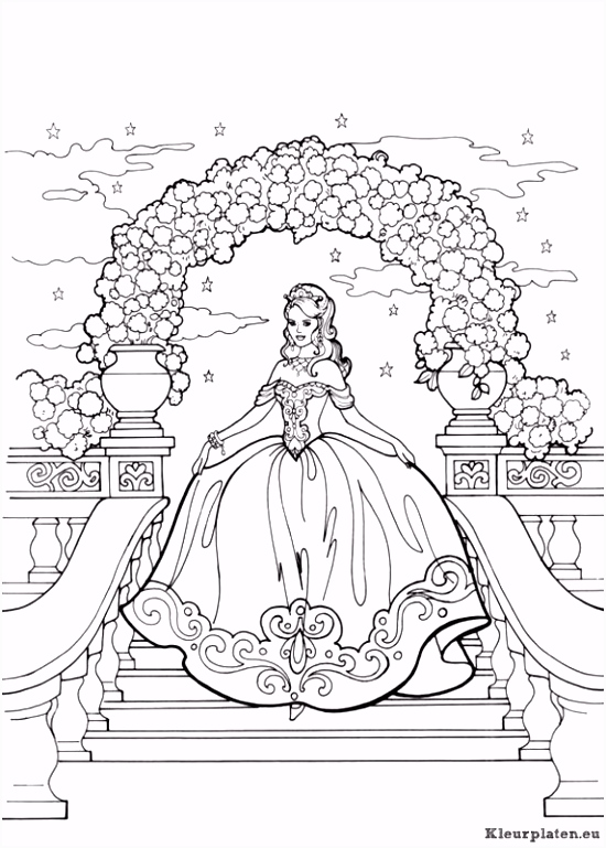 Prinses Kleurplaten Hard Prinses Leonora Kleurplaten – Werkbladen en