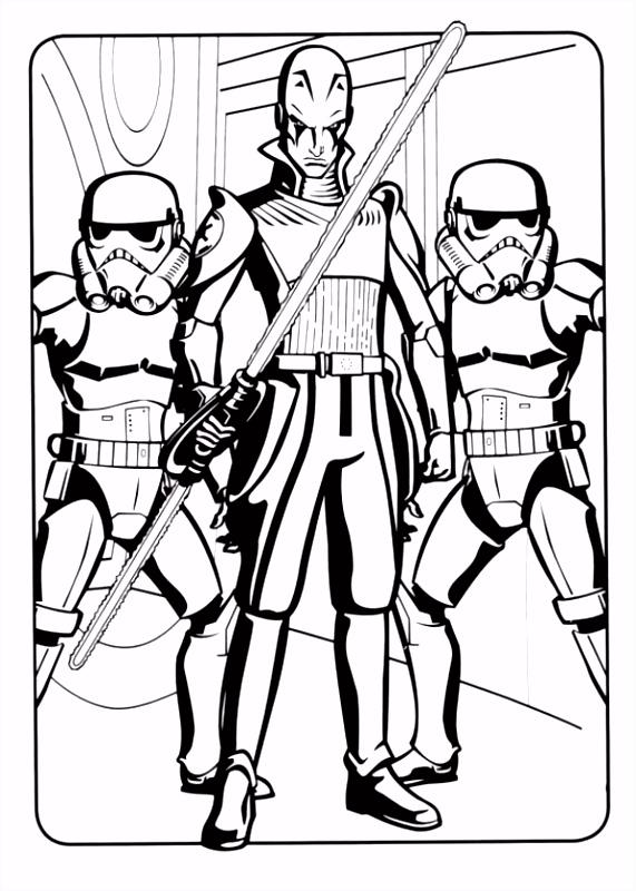 Kleurplaten Van Star Wars Rebels ARCHIDEV