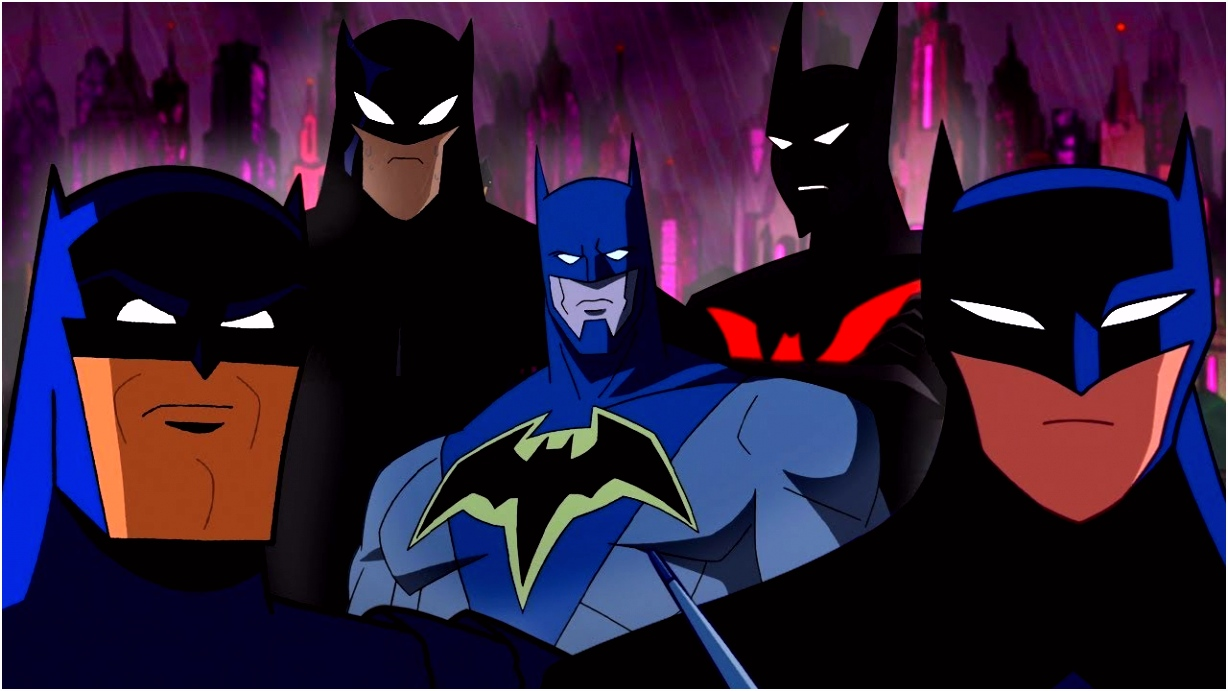 An Animated History of Batman Batman Day
