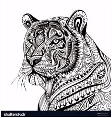 474 beste afbeeldingen van coloring lion tiger in 2018 Coloring