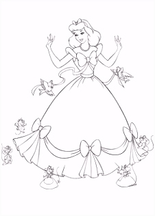 179 best Cinderella s coloring page images on Pinterest in 2018
