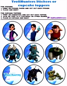 69 best Trollhunters Printables images on Pinterest